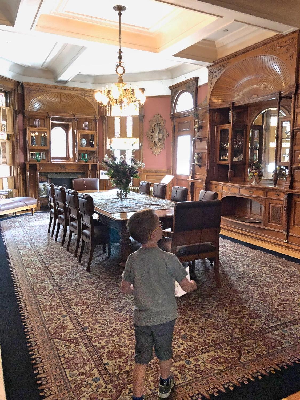Craigdarroch Castle I-Spy in Dining Room