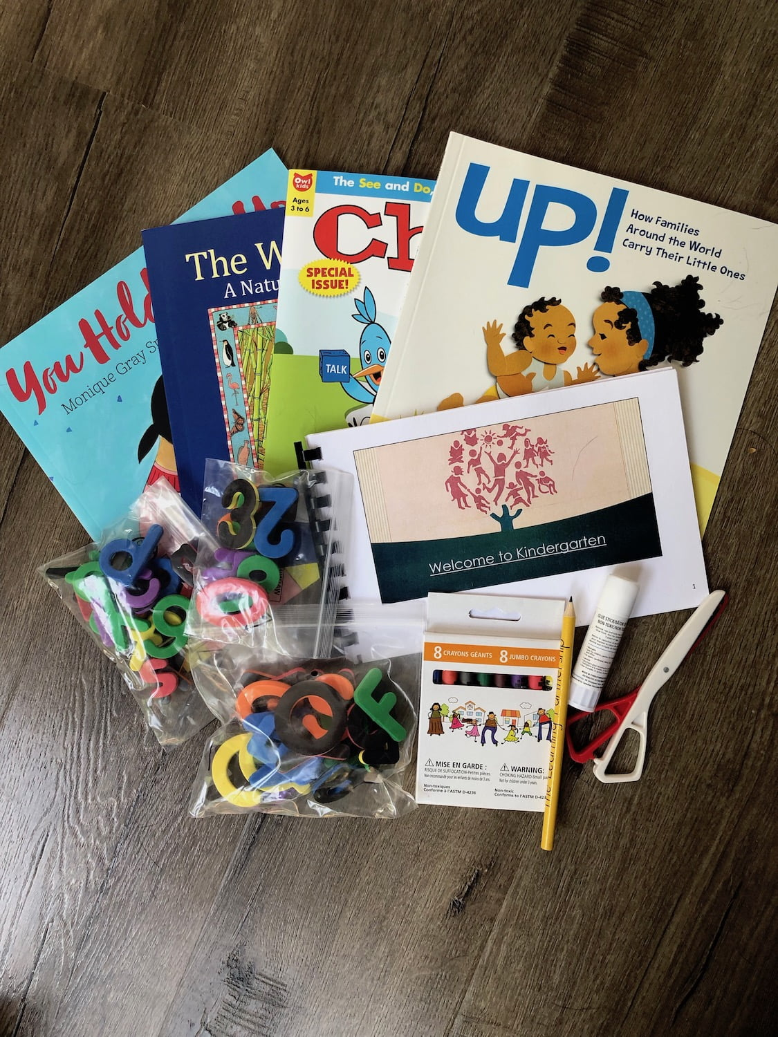 Kindergarten Welcome Package of Books and Supplies