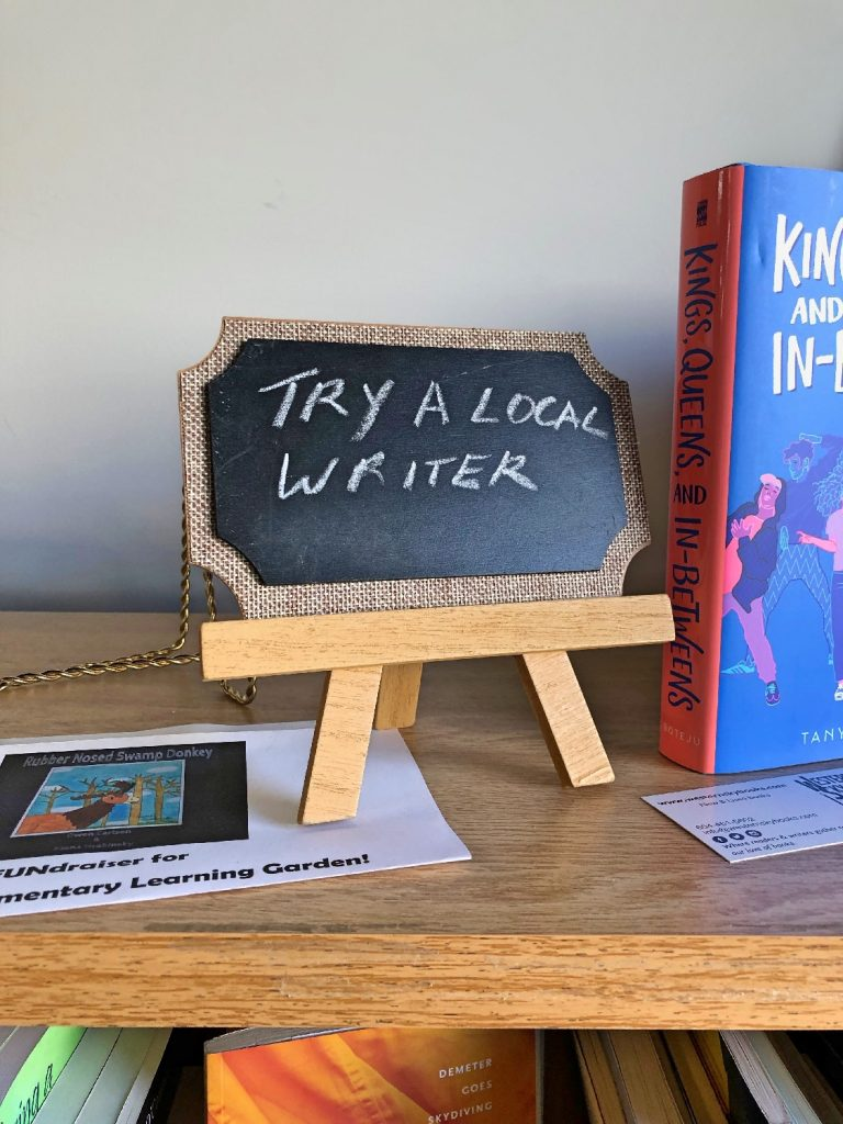 Try A Local Author Mini Sign