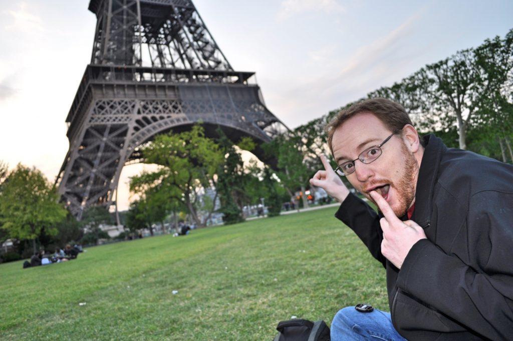Brad in Paris - Happy Birthday Brad!