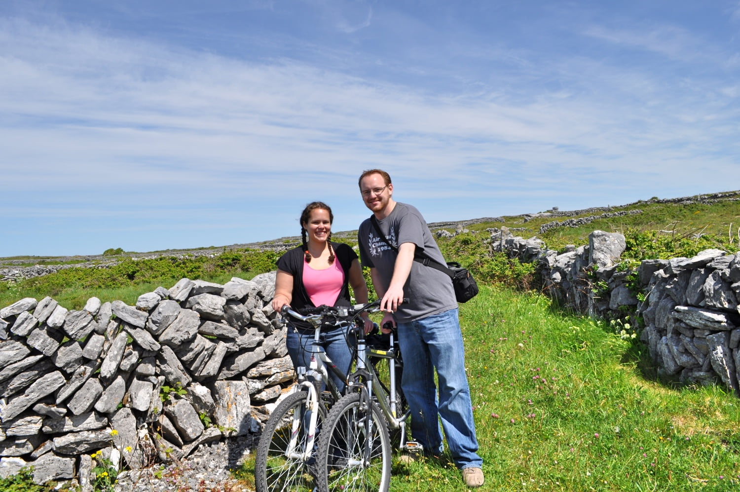 Branya in Ireland - Aran Islands