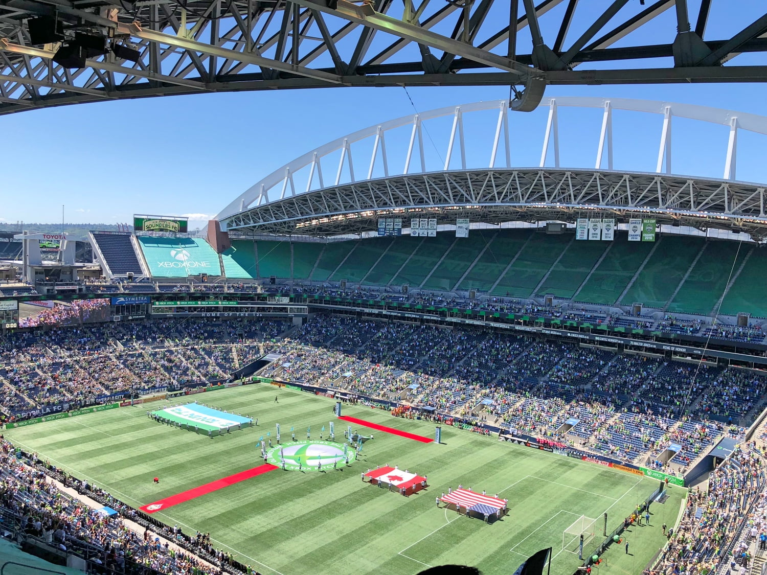 Century Link Field in Seattle 2018 (Inside View)