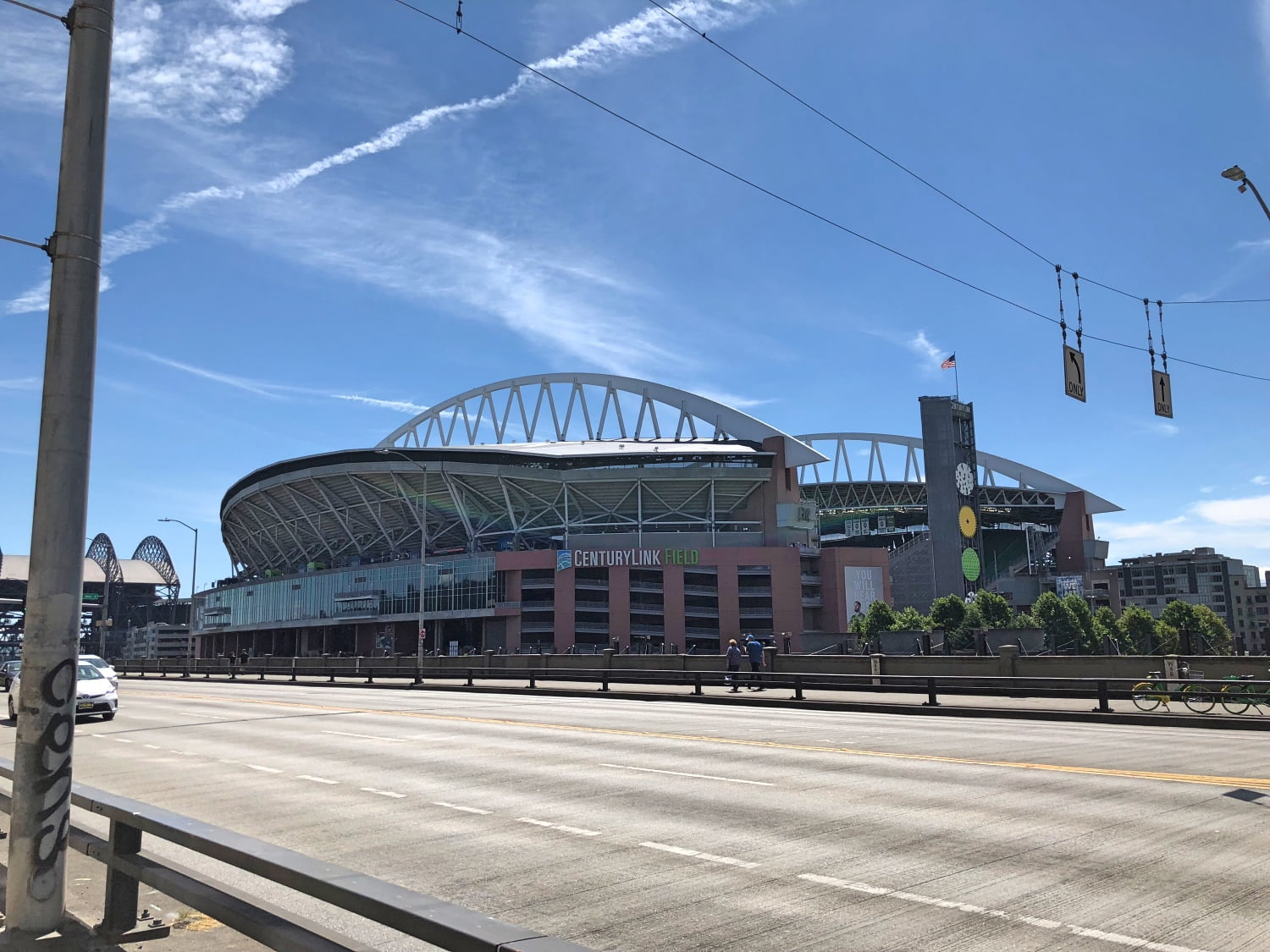 Century Link Field in Seattle 2018 (Outside View)