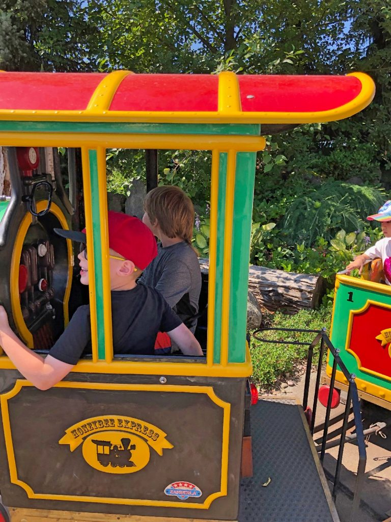 Honeybee Express Playland Train Conductor