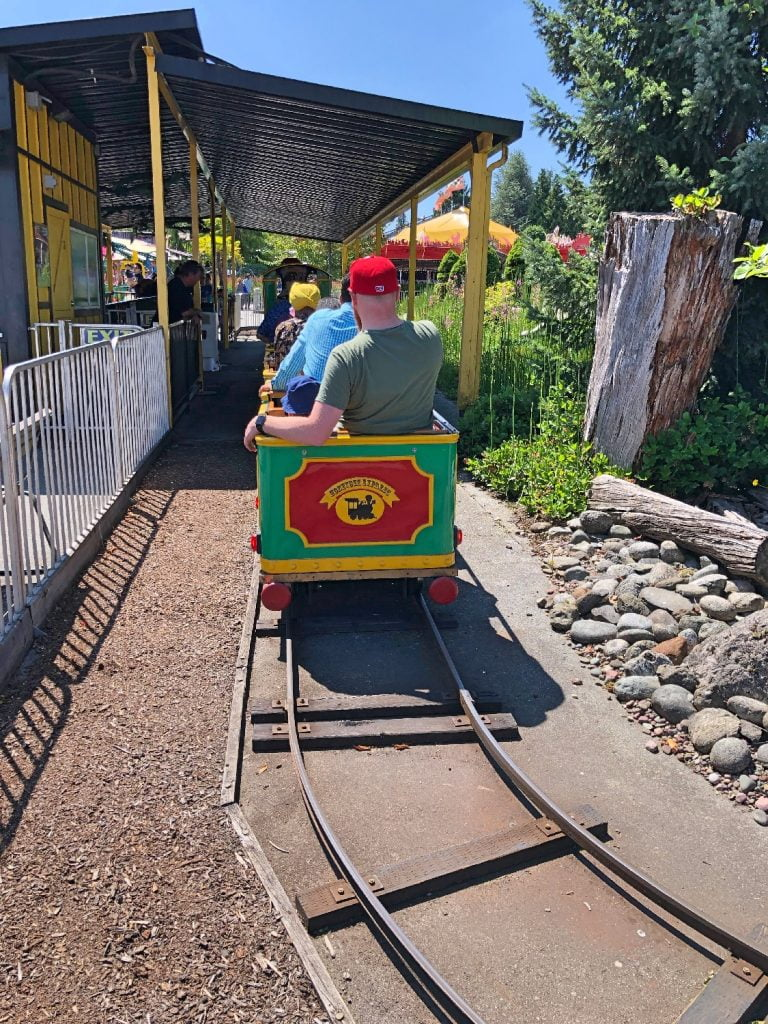 Honeybee Express Playland Train Ride