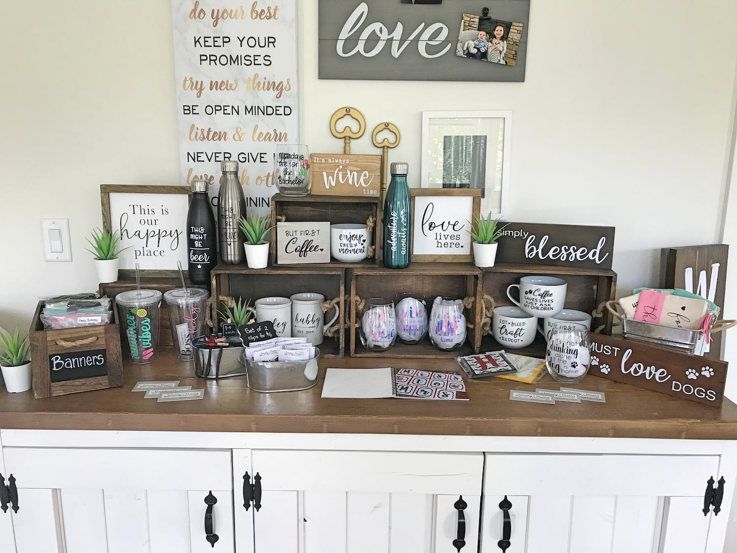 Simply Sheila Designs Display