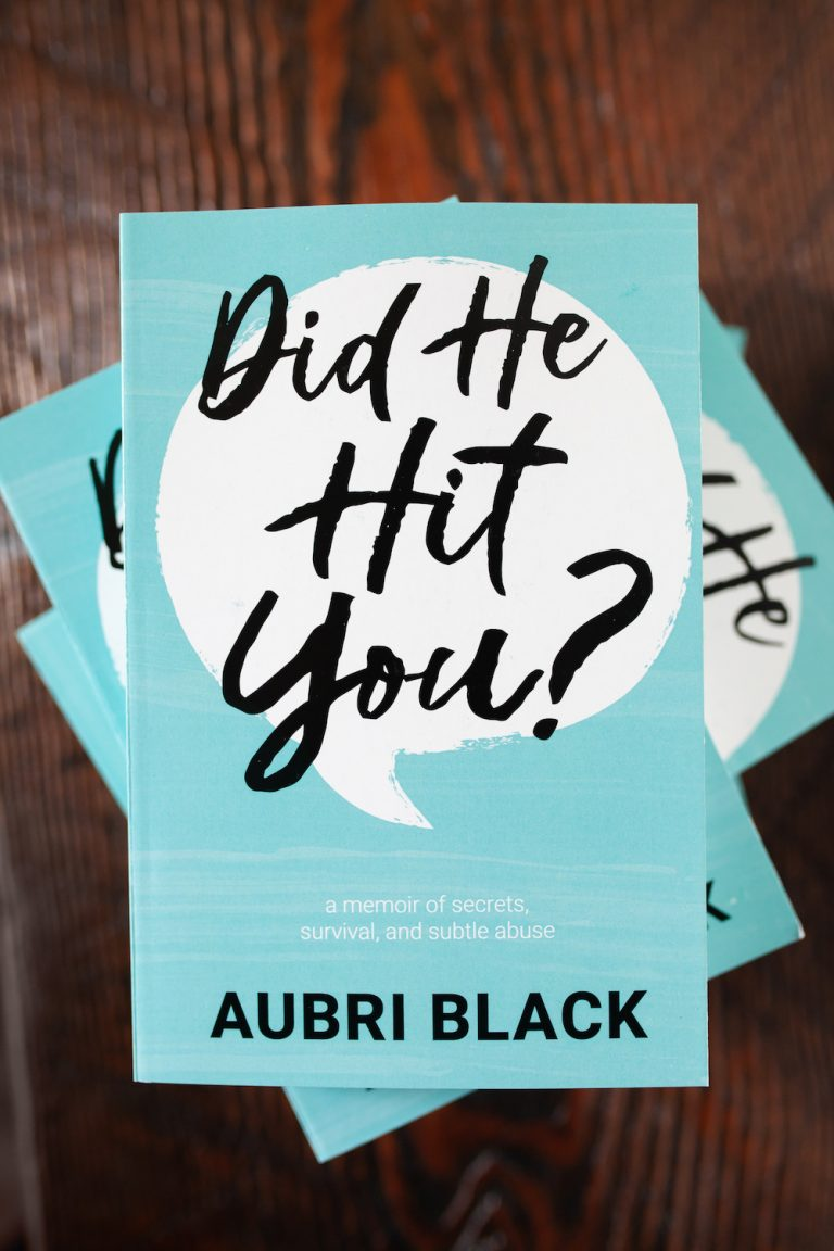 Book Cover - Did He Hit You? by Aubri Black (2)