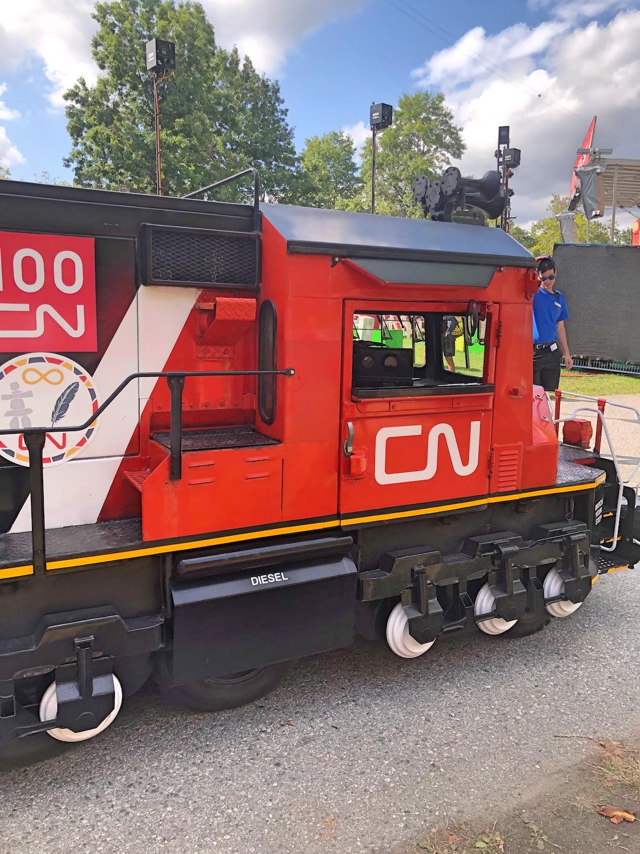 CN Rail Train at PNE 2019