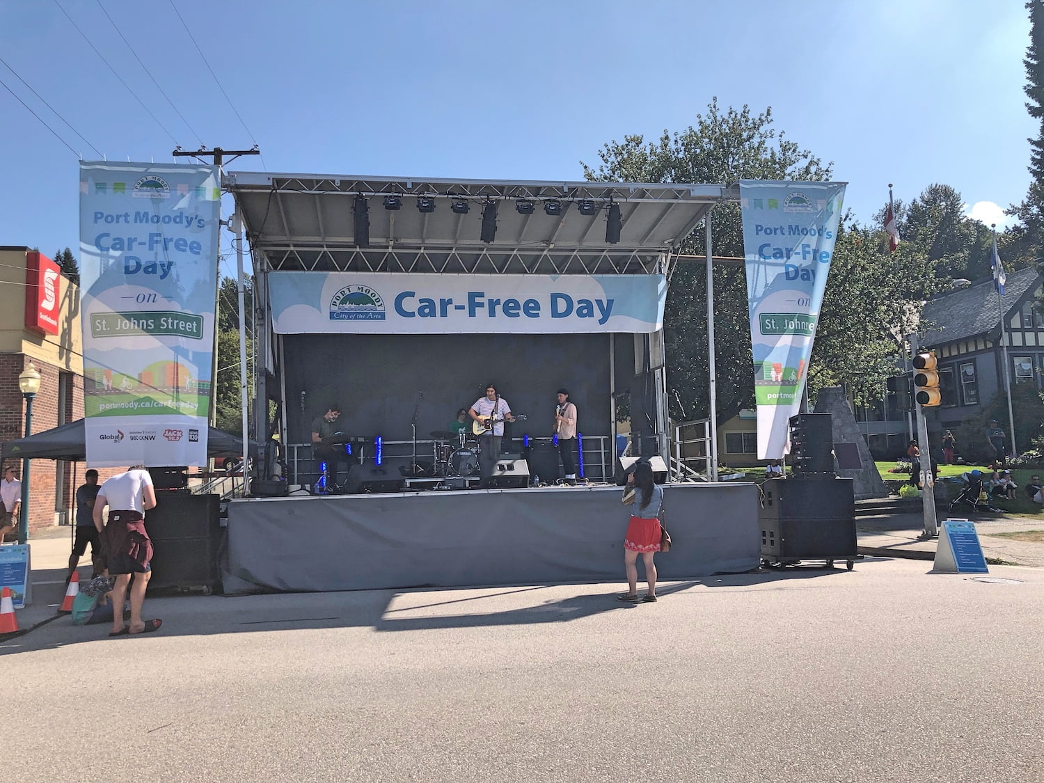 Car-Free Day Port Moody 2019 - Stage