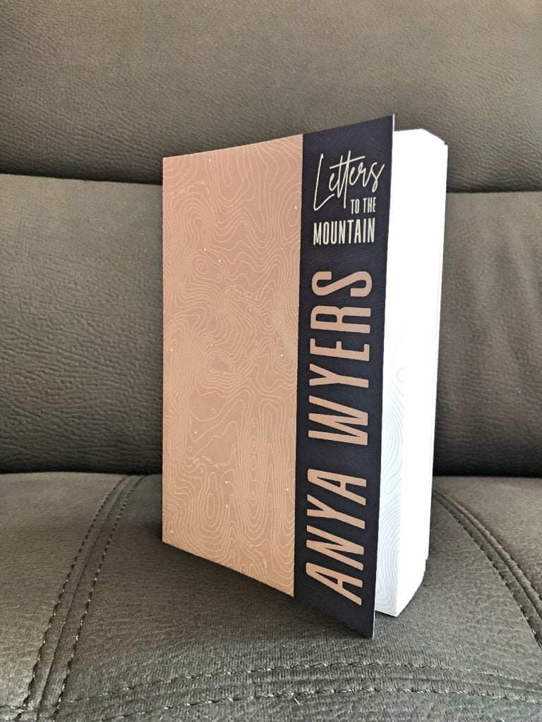 Letters to the Mountain by Anya Wyers Cover Open