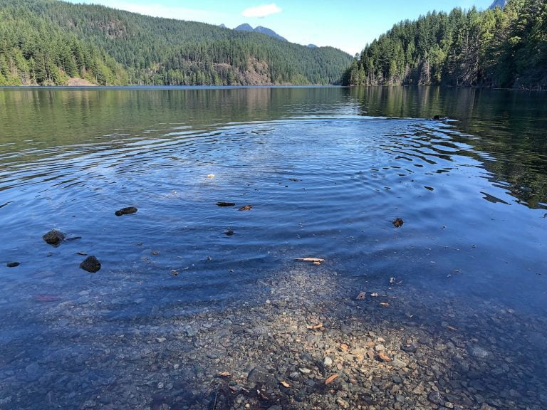 Ripple in Buntzen Lake