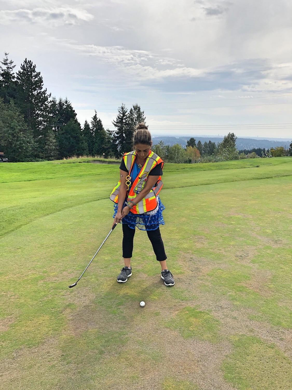 Golfing Mama - Westwood Plateau Golf Course