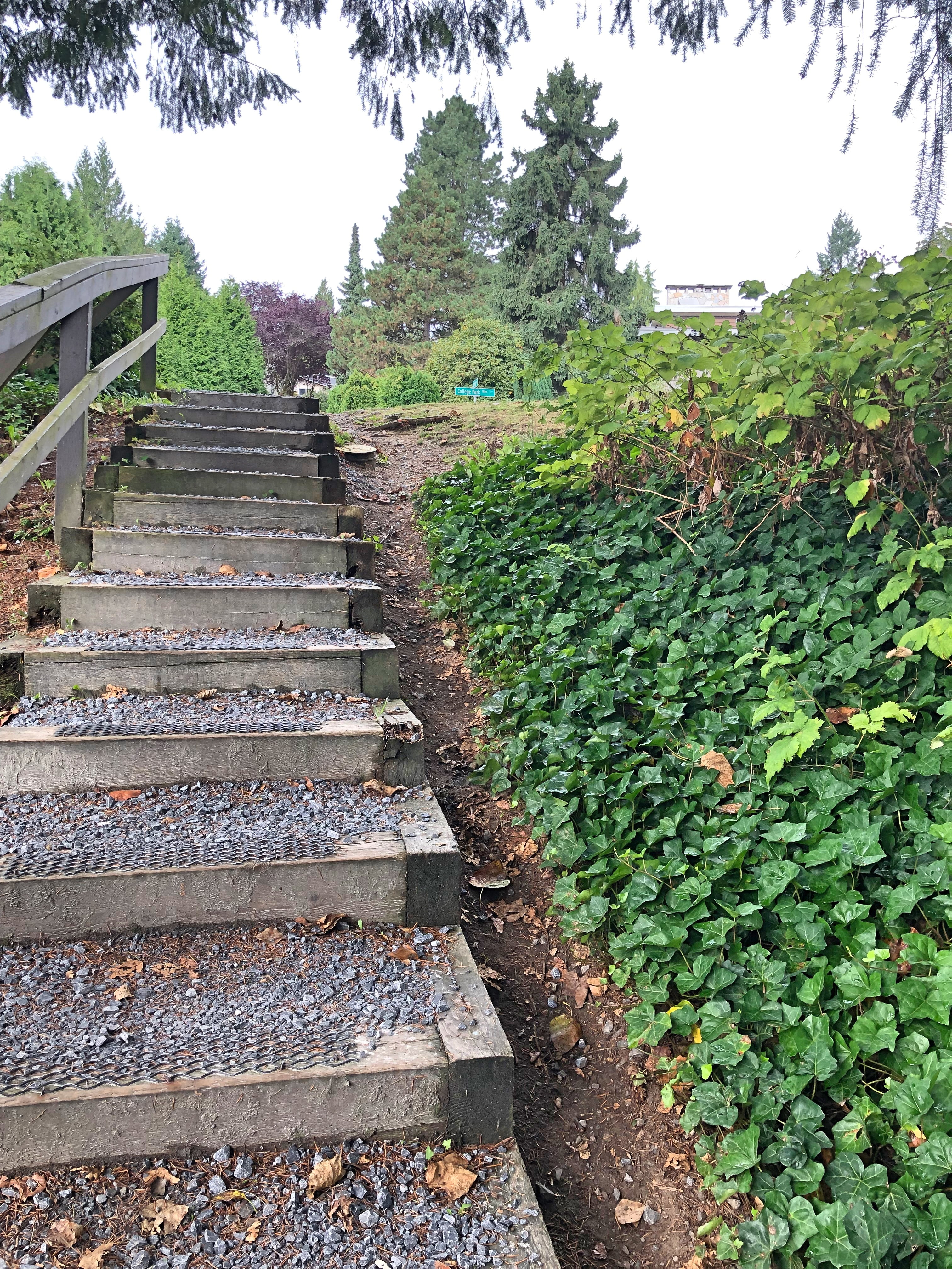 Stairs at Easthill, Port Moody