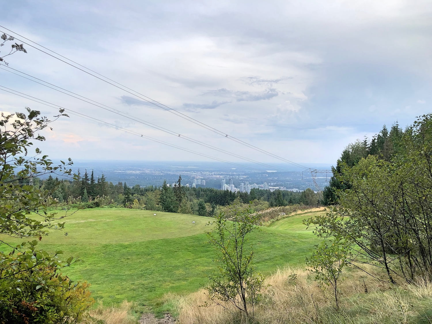 Westwood Plateau Golf Course View from 9th Hole