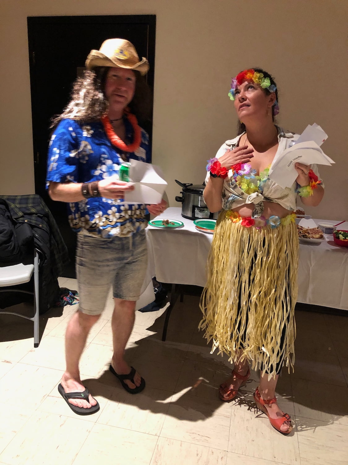 Costume Party - Hawaii