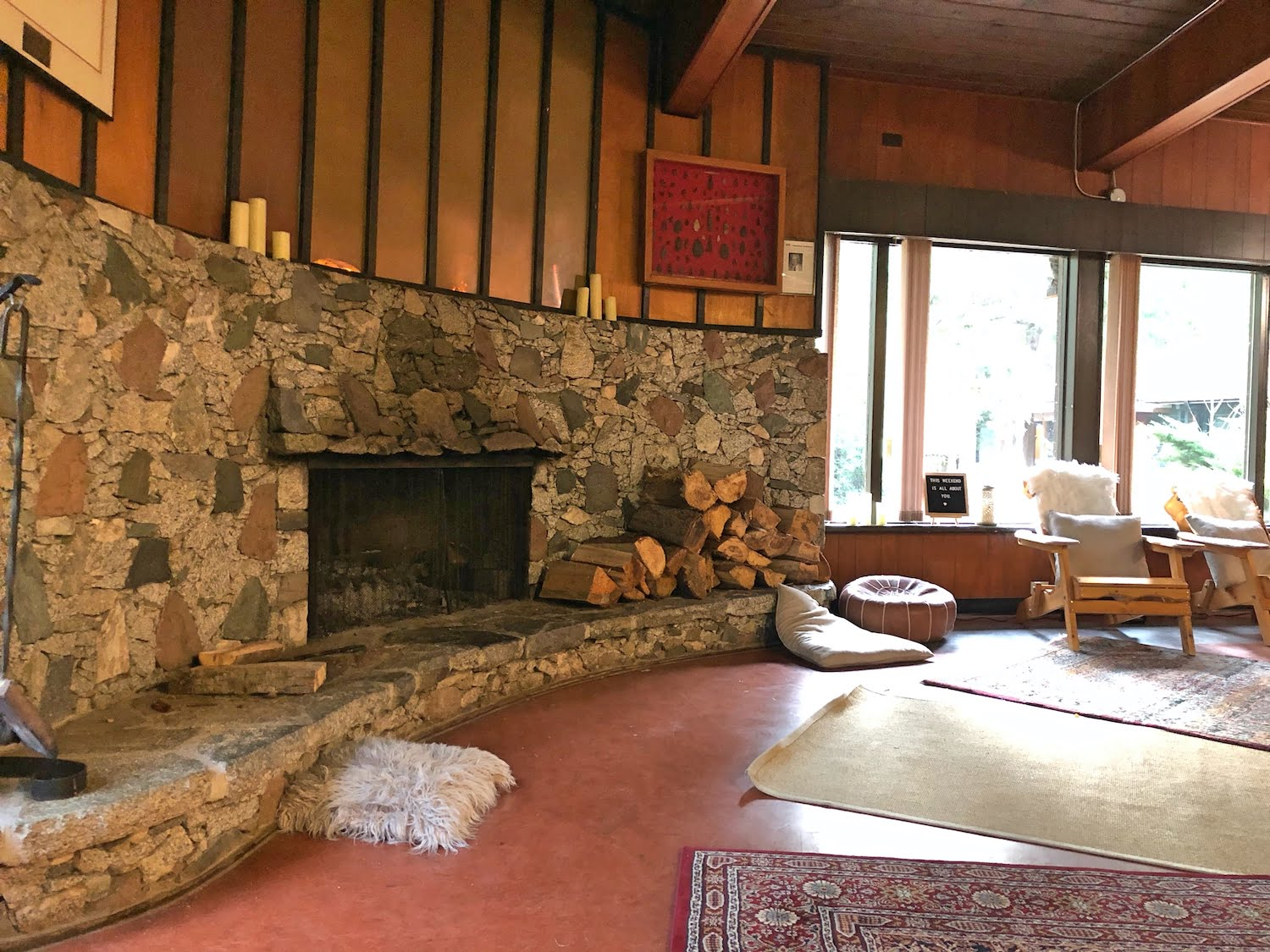 Cheakamus Centre Fireside Lounge