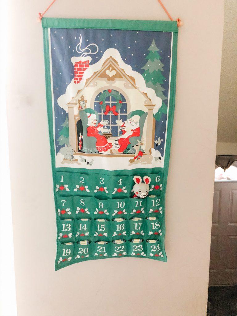 Christmas Decorations Mouse Advent Calendar