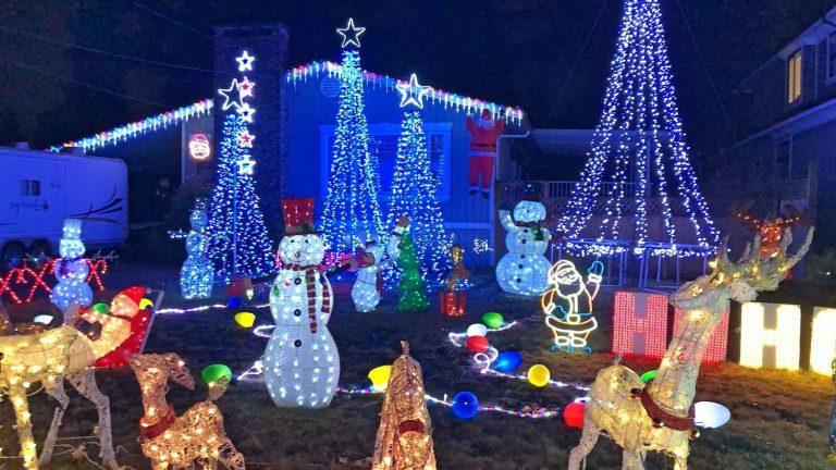 Christmas Lights Coquitlam, BC
