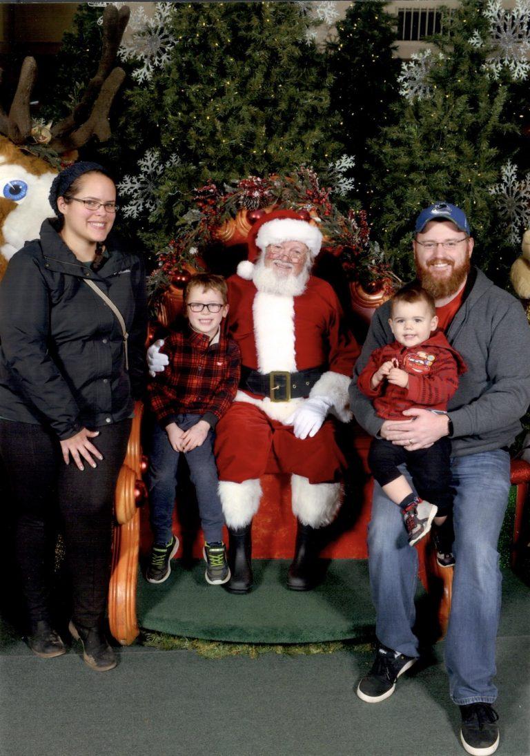 Family Santa Visit