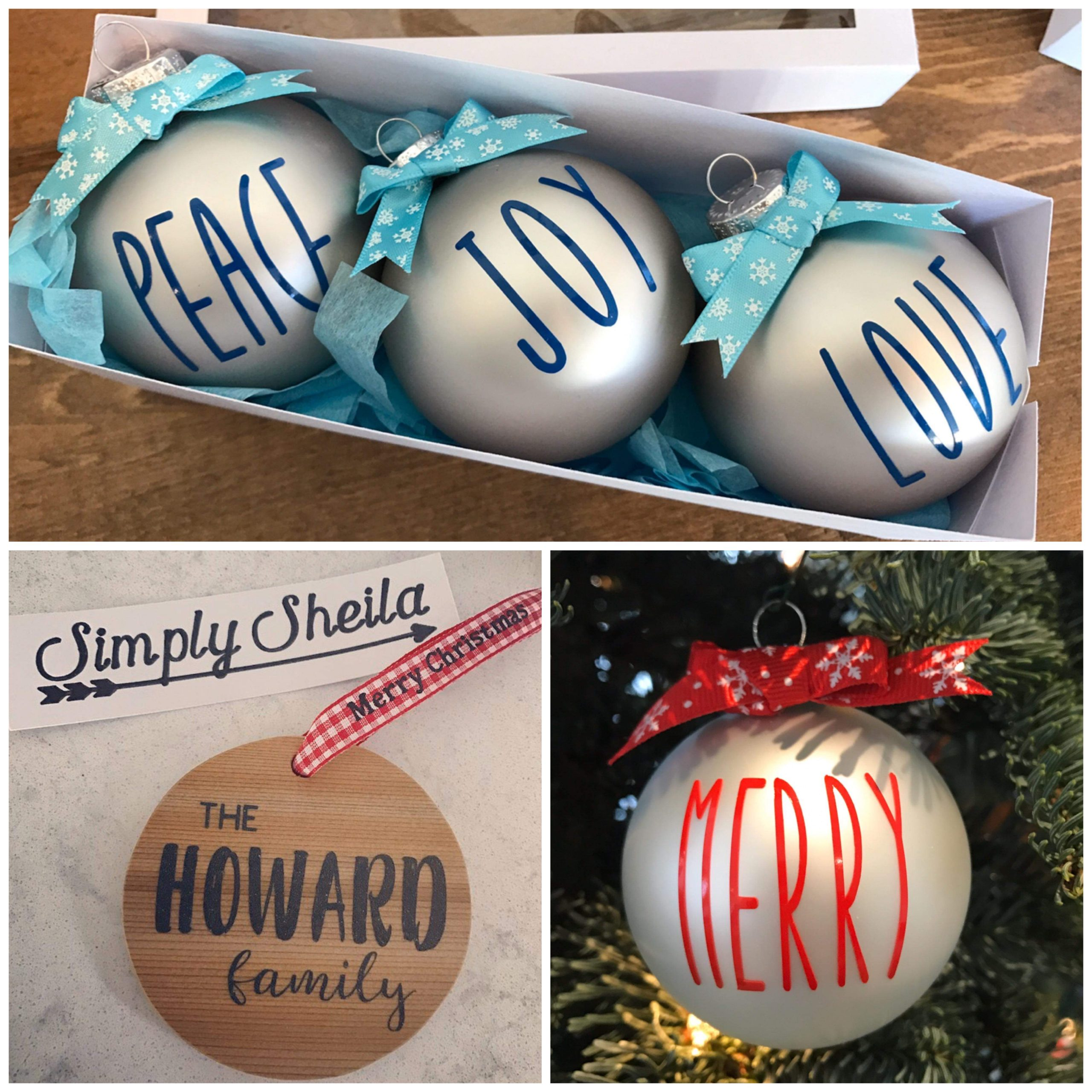 Simply Sheila Designs - Christmas Ornaments