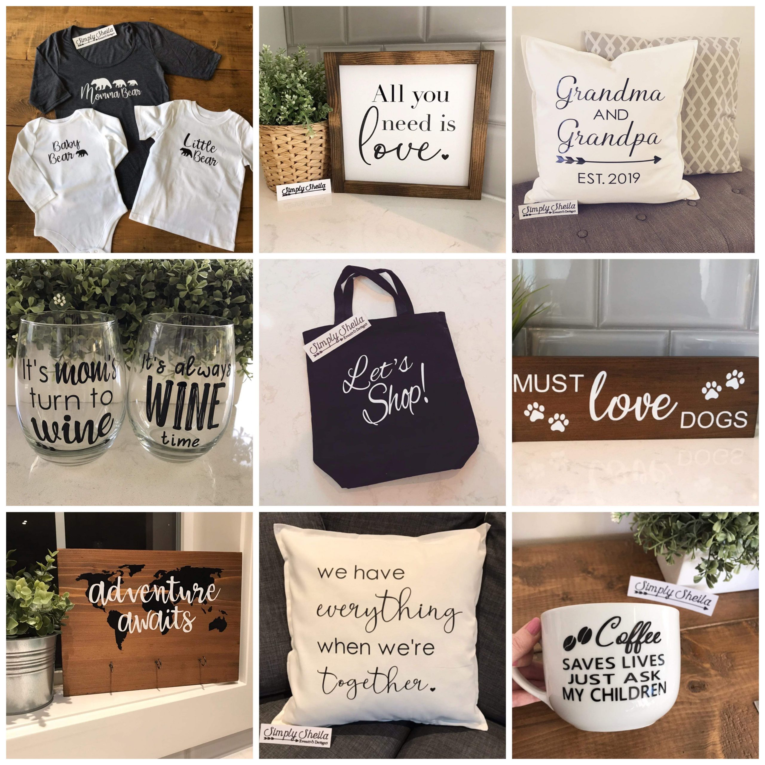 Simply Sheila Designs - Various Decor and Items