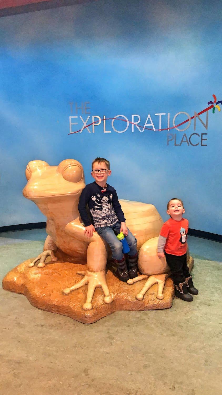 Exploration Place Prince George - Kids Posing