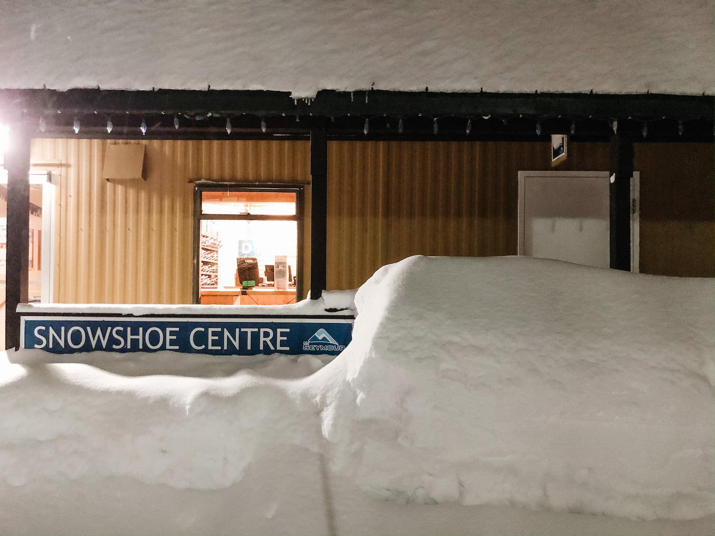 Snowshoe Centre at Mt Seymour