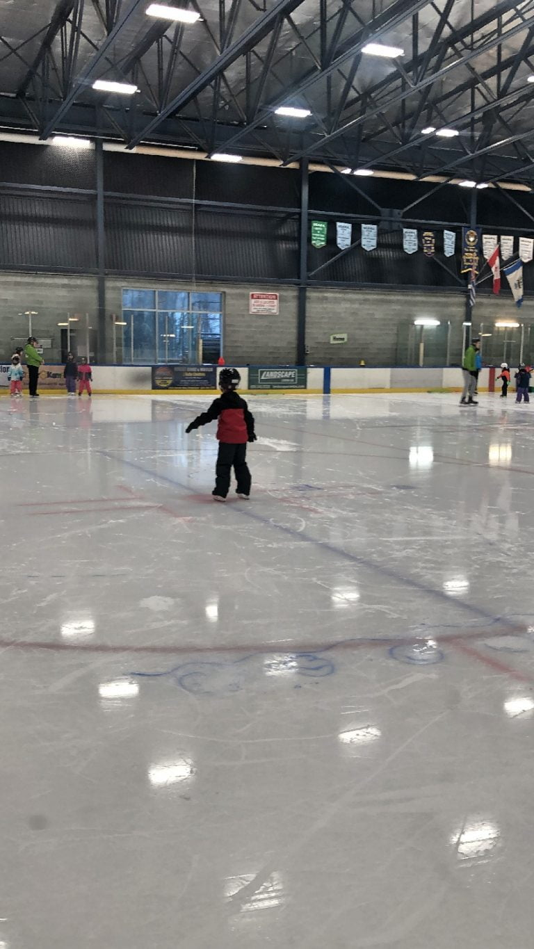 First Skating Strides