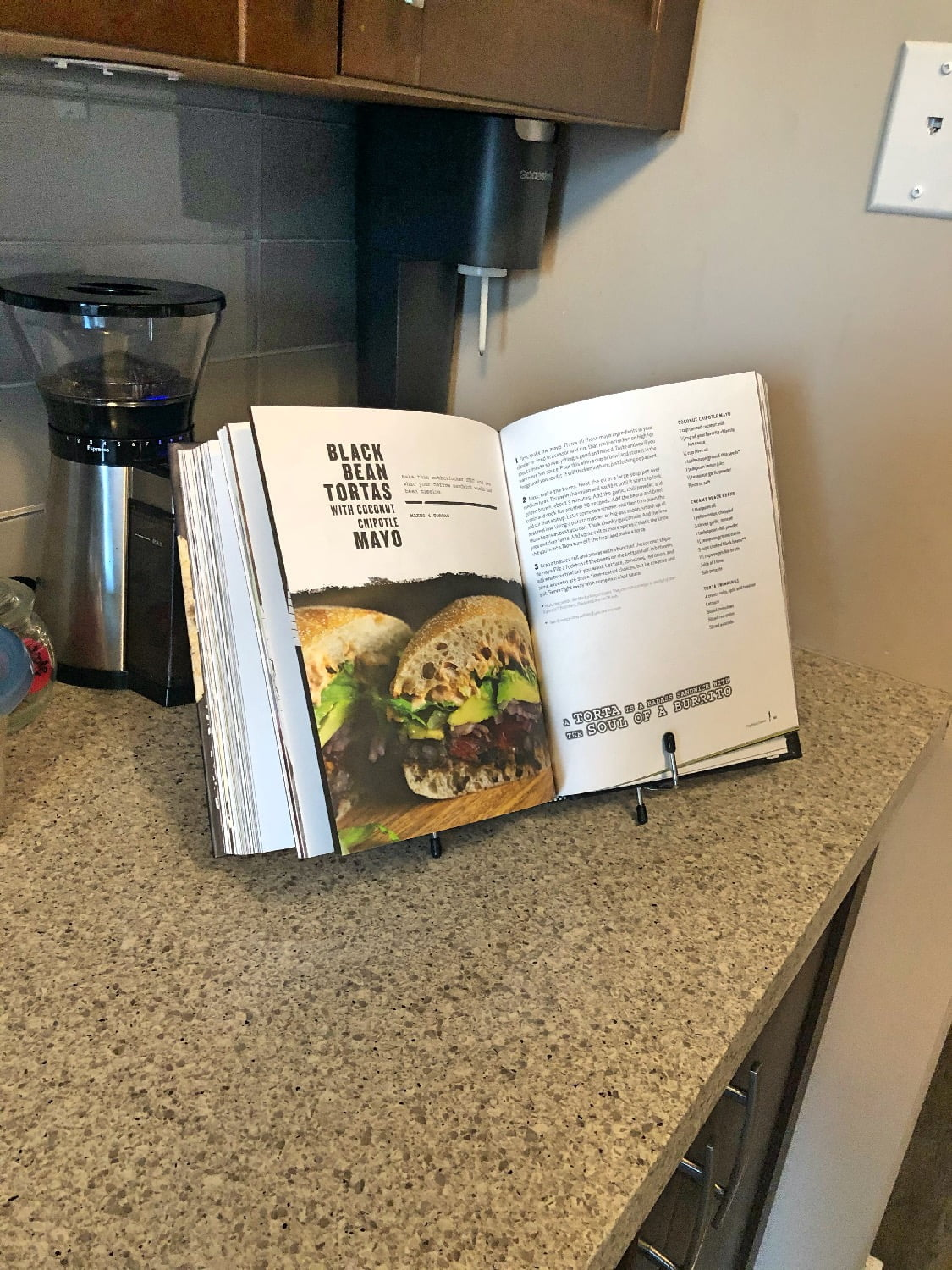 Thug Kitchen Cookbook - Black Bean Tortas
