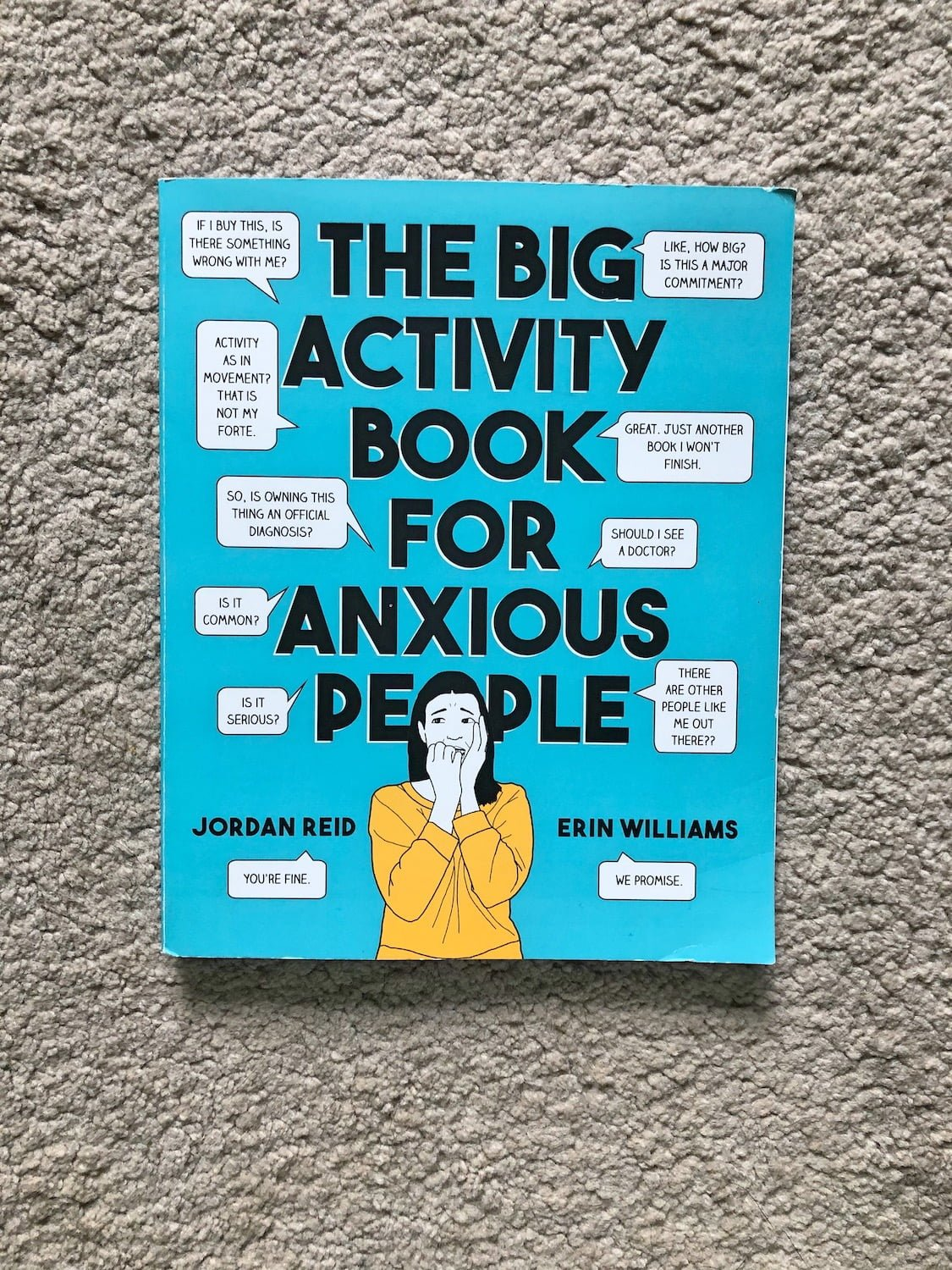Anya Reads - The Big Activity Book for Anxious People
