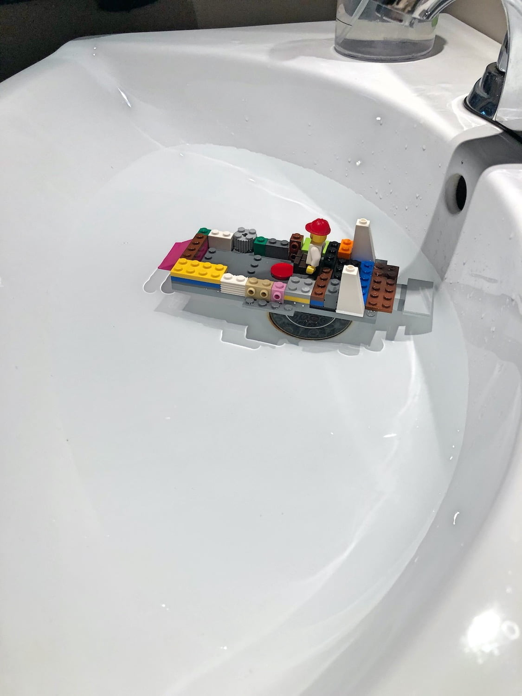 Kindergarten Lego Challenge - Boat
