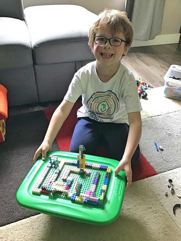 Kindergarten Lego Challenge - Marble Maze