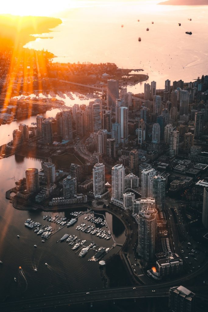 Downtown Vancouver - Photo by Brayden Law on Unsplash
