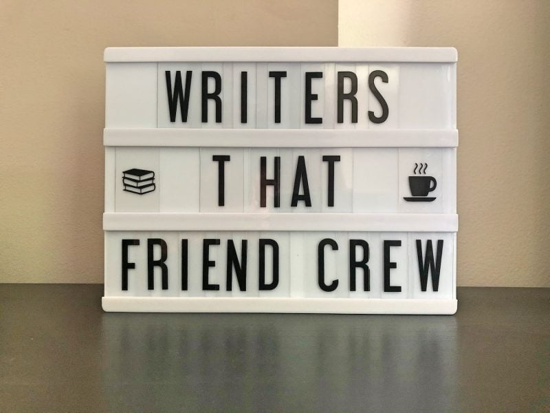 Writers That Friend Crew and Some Exciting News