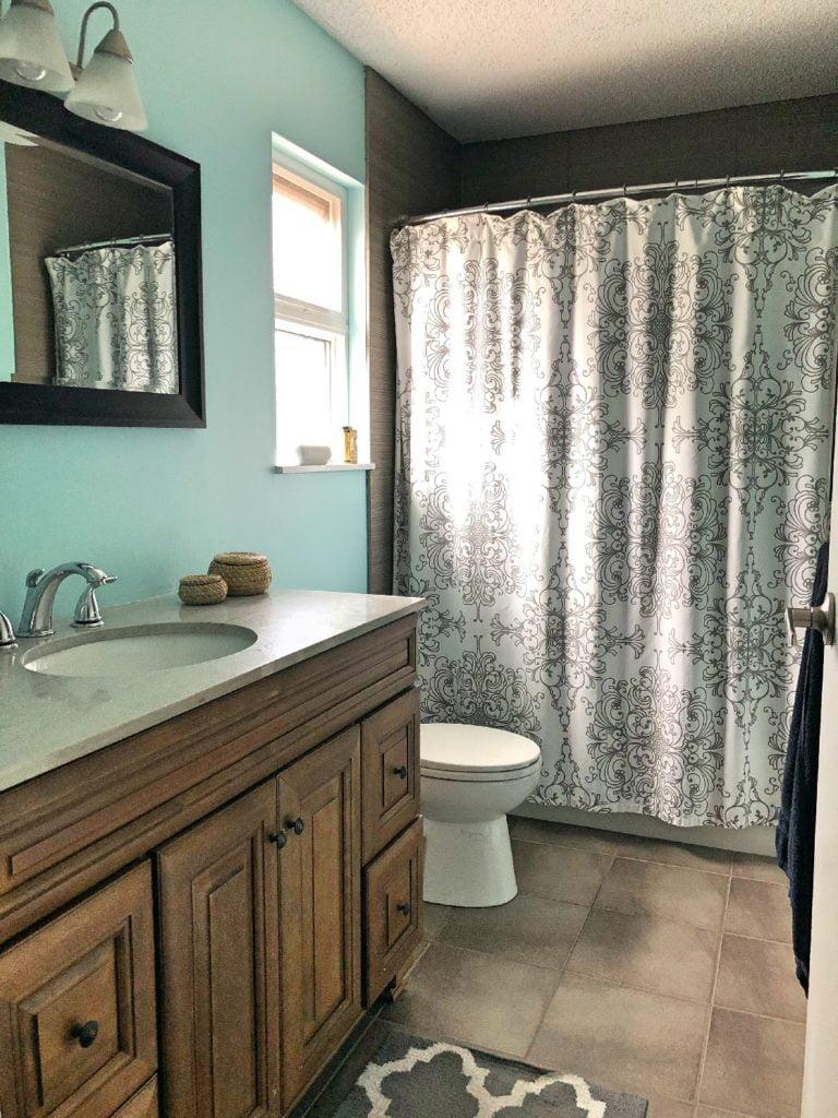 Freshly Painted Bathroom