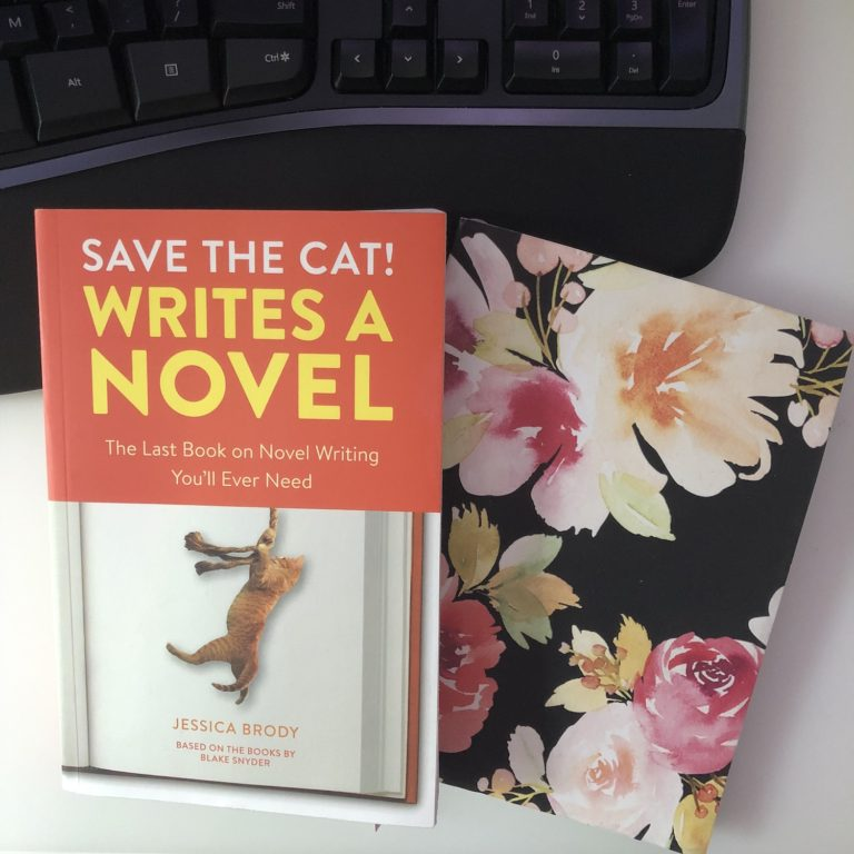 Save the Cat Writes a Novel and a Floral Notebook
