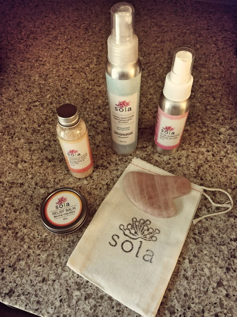 Sola Skincare Mystery Bag - Product Contents