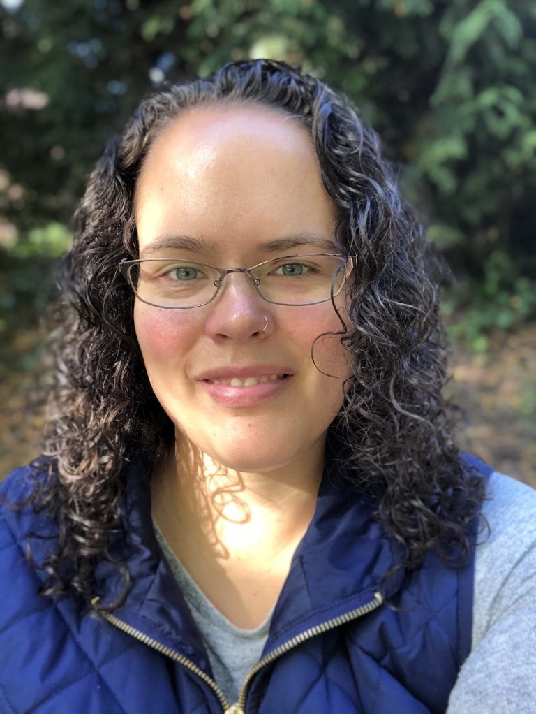 Anya Wyers Author on a Fall Day