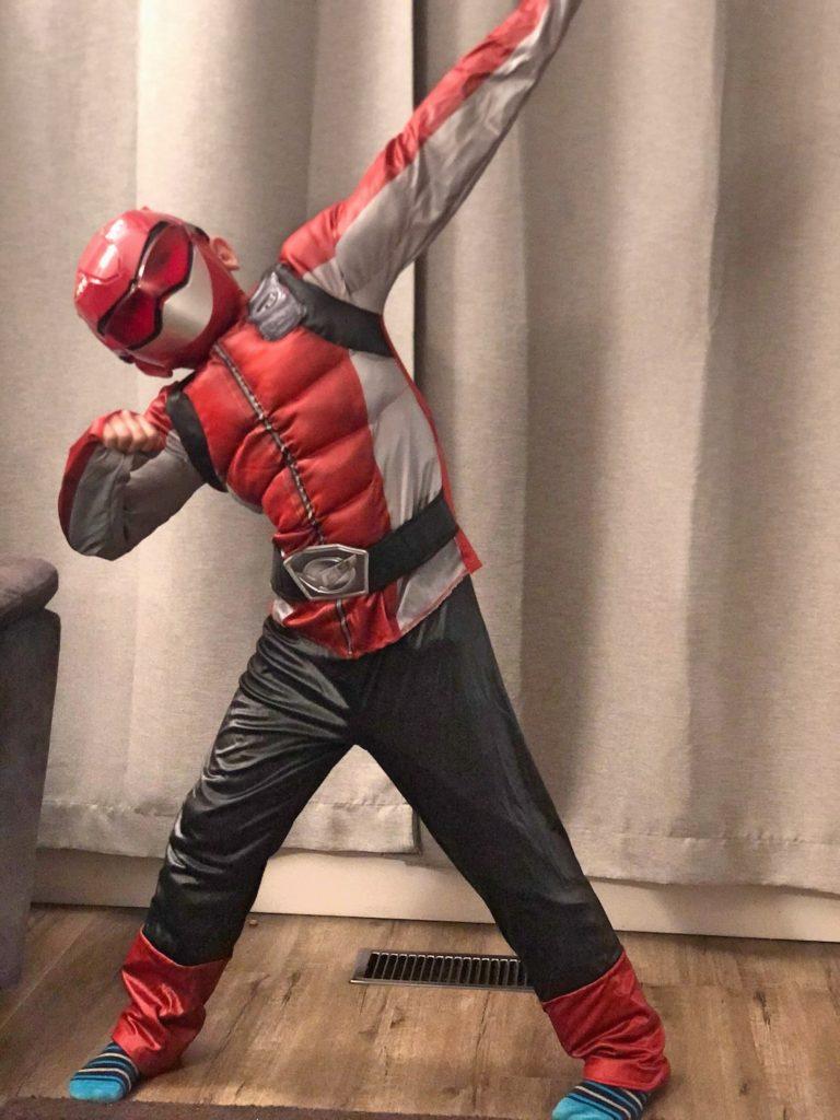 Red Beast Power Ranger Costume