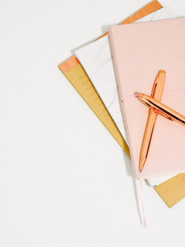 Pens and Paper - Photo by Jess Bailey from Unsplash
