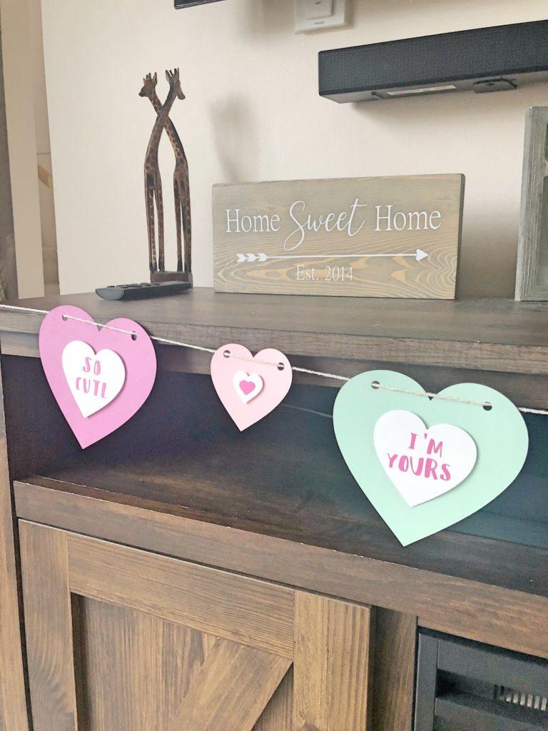 Valentines Conversation Heart Banner Part 1