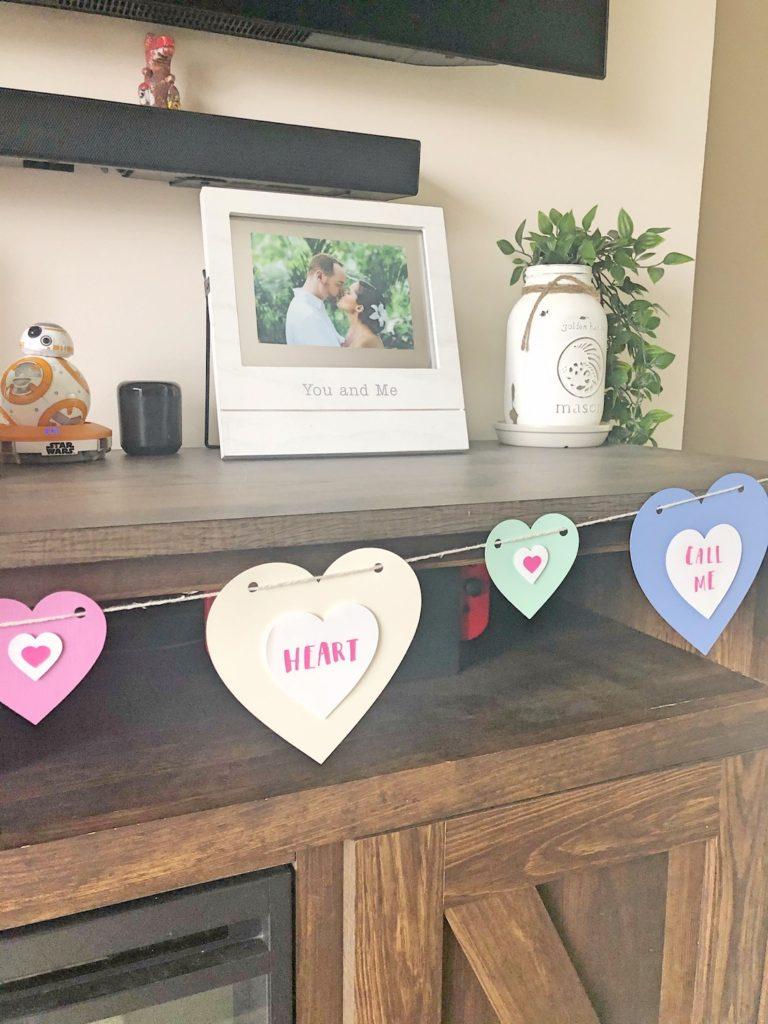 Valentines Conversation Heart Banner Part 3